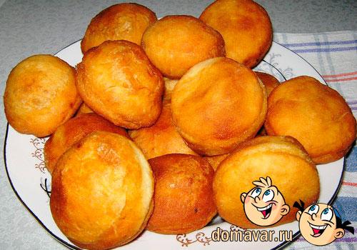 Пончики с яблочным конфитюром
