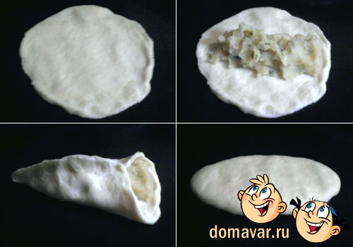 Пирожки с картофельной начинкой
