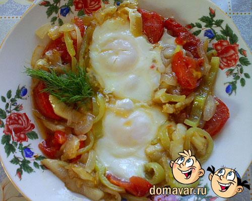 Завтрак с овощами