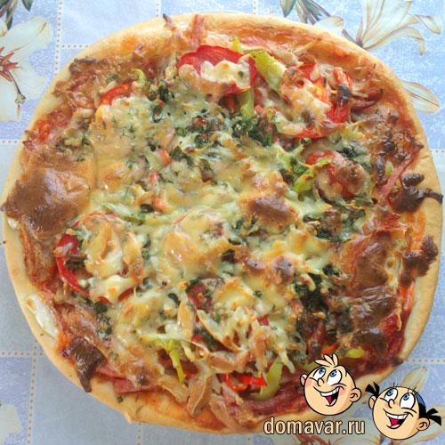 Пицца с куриным мясом