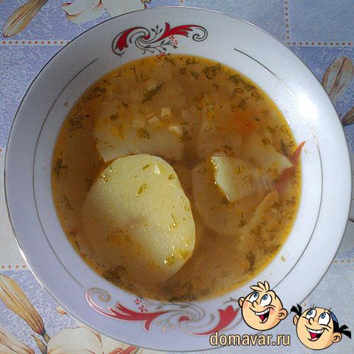 Диетический суп на скорую руку