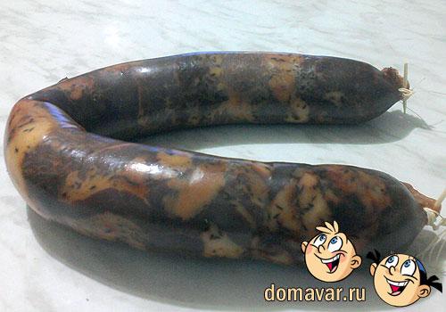 Казы палов. Плов с конской колбасой