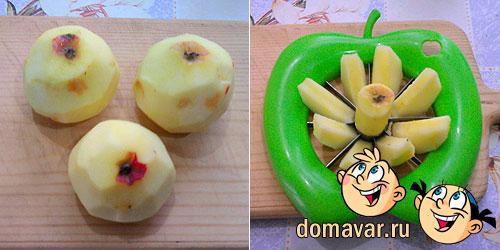 Шарлотка с яблоками. Подробный рецепт