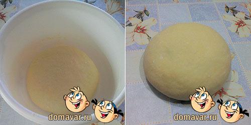 Сдобное пресное тесто на молоке