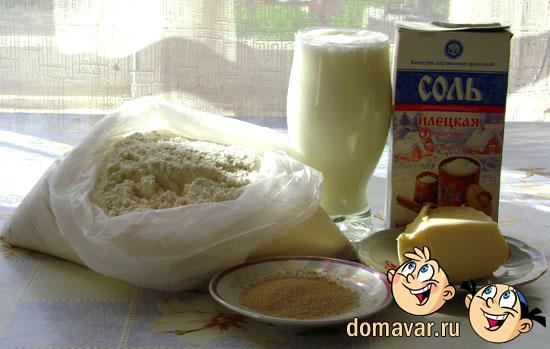 Пышные лепёшки на молоке