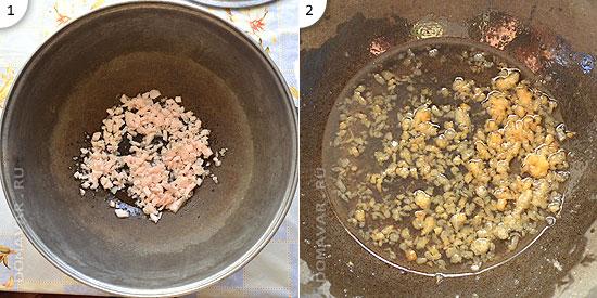 Манпар рецепт, Суп с клецками