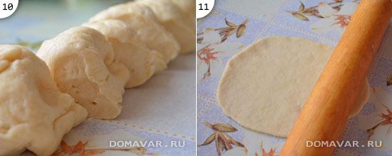 Как сделать тесто для пирожков тонкое
