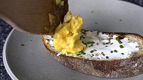 Яичный тост