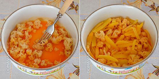 Цветная капуста с картошкой