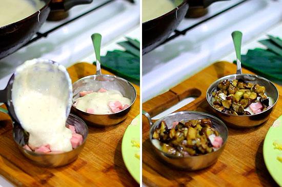 Рецепт жульен с соусом бешамель рецепт