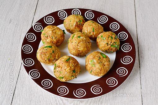 Закусочные крокеты с печенью трески