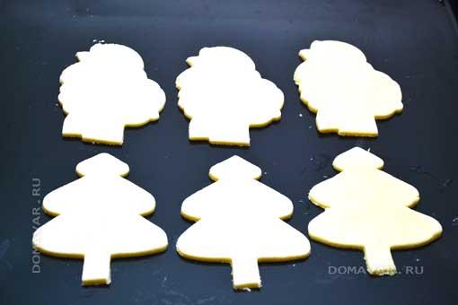 Праздничный набор печенья «Овечка в лесу»
