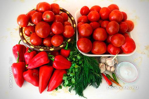 Продукты для томатного сауса