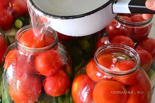 Баланшировка овощей