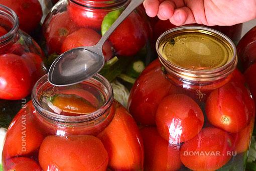 Как солить овощи