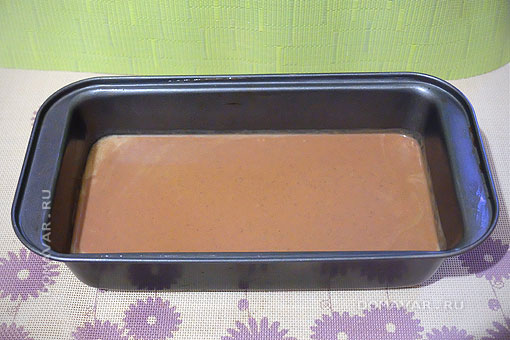 Аппетитный шоколадный кекс в духовке