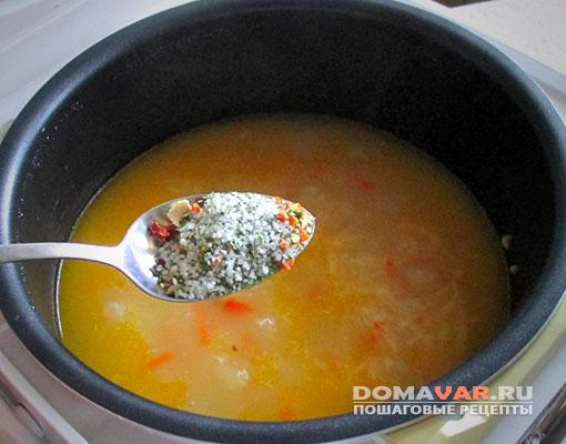 Как приготовить суп в мультиварке поларис пошаговый рецепт с