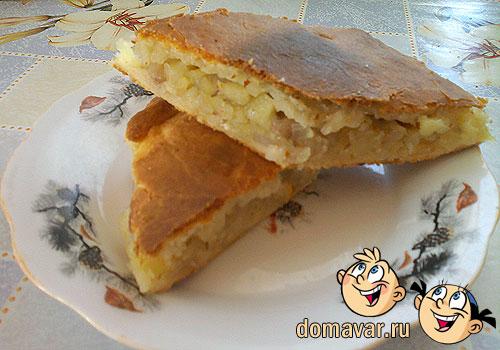 Простые пирогов в духовке с начинкой