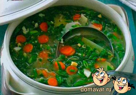 щи из зеленой капусты рецепт с фото-хв7