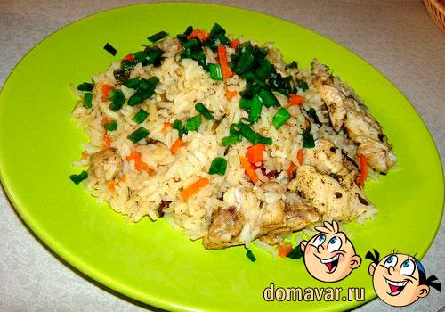 Пропаренный рис в духовке