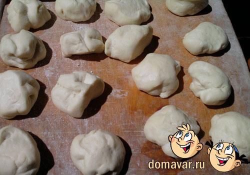 Жареные пирожки с картофельной начинкой
