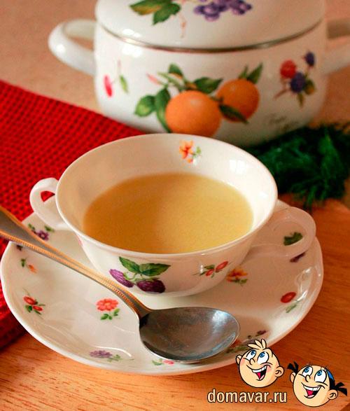 Крем-суп из груши и цуккини