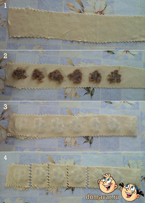 Рецепт самбуса - жареные пирожки с мясом