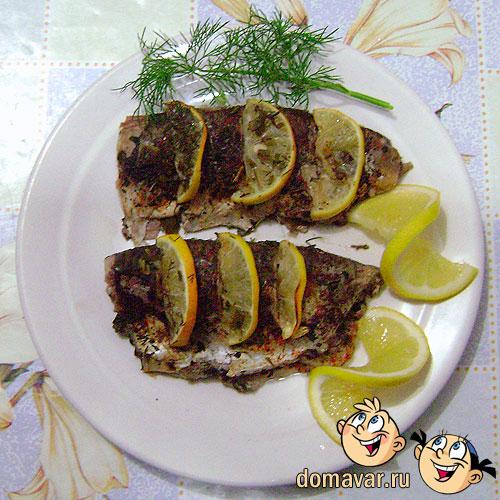 Рыба запечённая в фольге