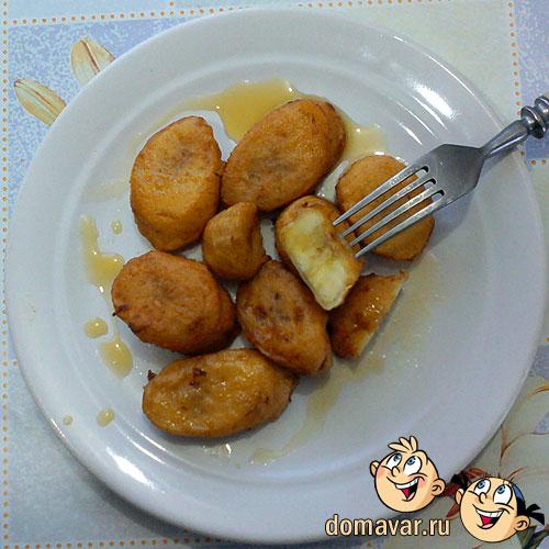 Бананы в кляре - обалденно вкусный рецепт