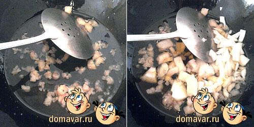 Мясные голубцы с гарниром рецепт