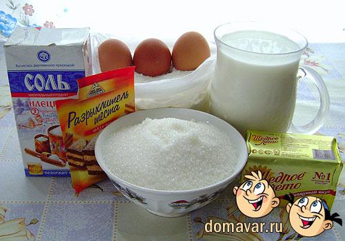Тонкие блины на молоке рецепт