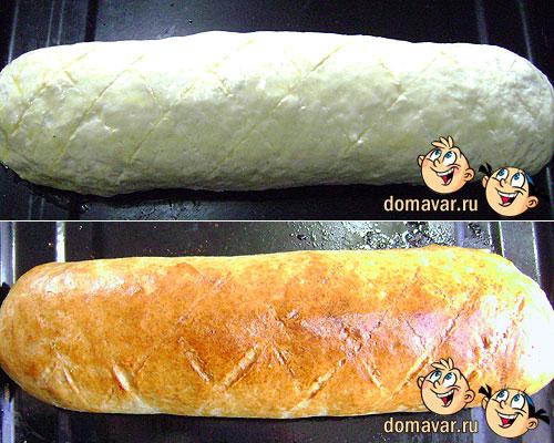 Пирог с картофельно-мясной начинкой