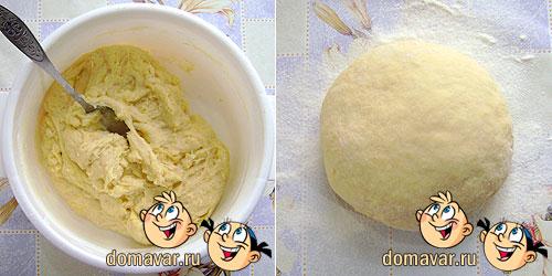 Пирожки с картошкой приготовление