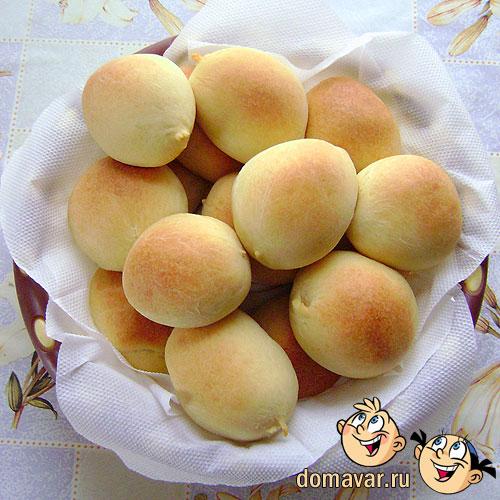 Воздушные пирожки с начинкой из картошки