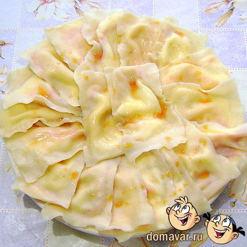 Тухум барак (Вареники с яичной начинкой)
