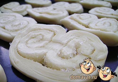 Пирожное «Пальмира» или печенье «Ушки»