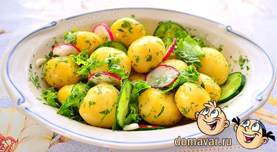 Рецепт салата из картофеля