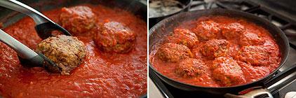 Итальянские фрикадельки в томатном соусе