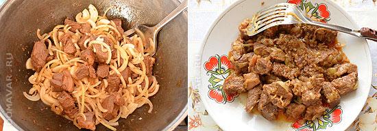 Жаркое из мяса и картофеля