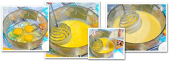 Банановый бисквитный пирог видео рецепт