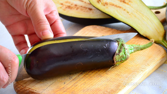 Запечённые баклажаны с сыром «Жар-птица»