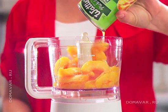 Персиковый чизкейк пошаговый рецепт