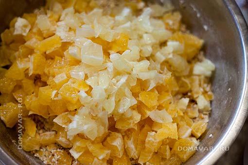 Овсяное печенье с апельсином и лимоном