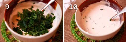 Сметано-томатный соус