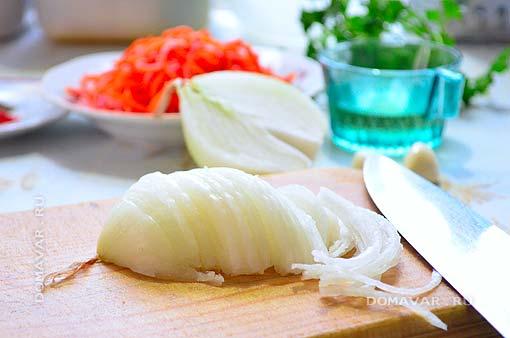 Салат из капусты приготовление
