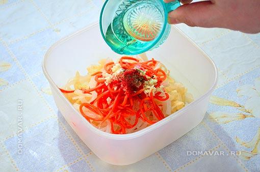 Капуста с морковью рецепт с фото