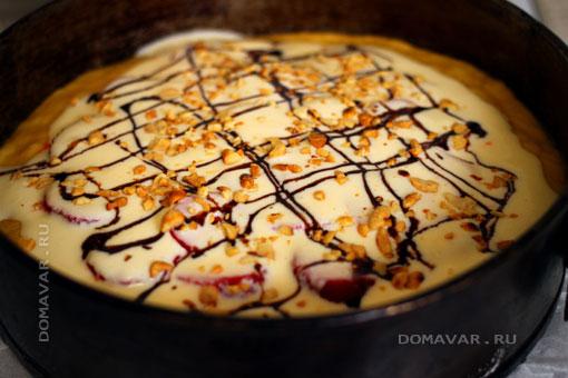 Ягодный пирог с клубникой рецепт
